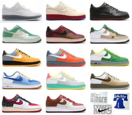Air Force One's   Nike air force ones