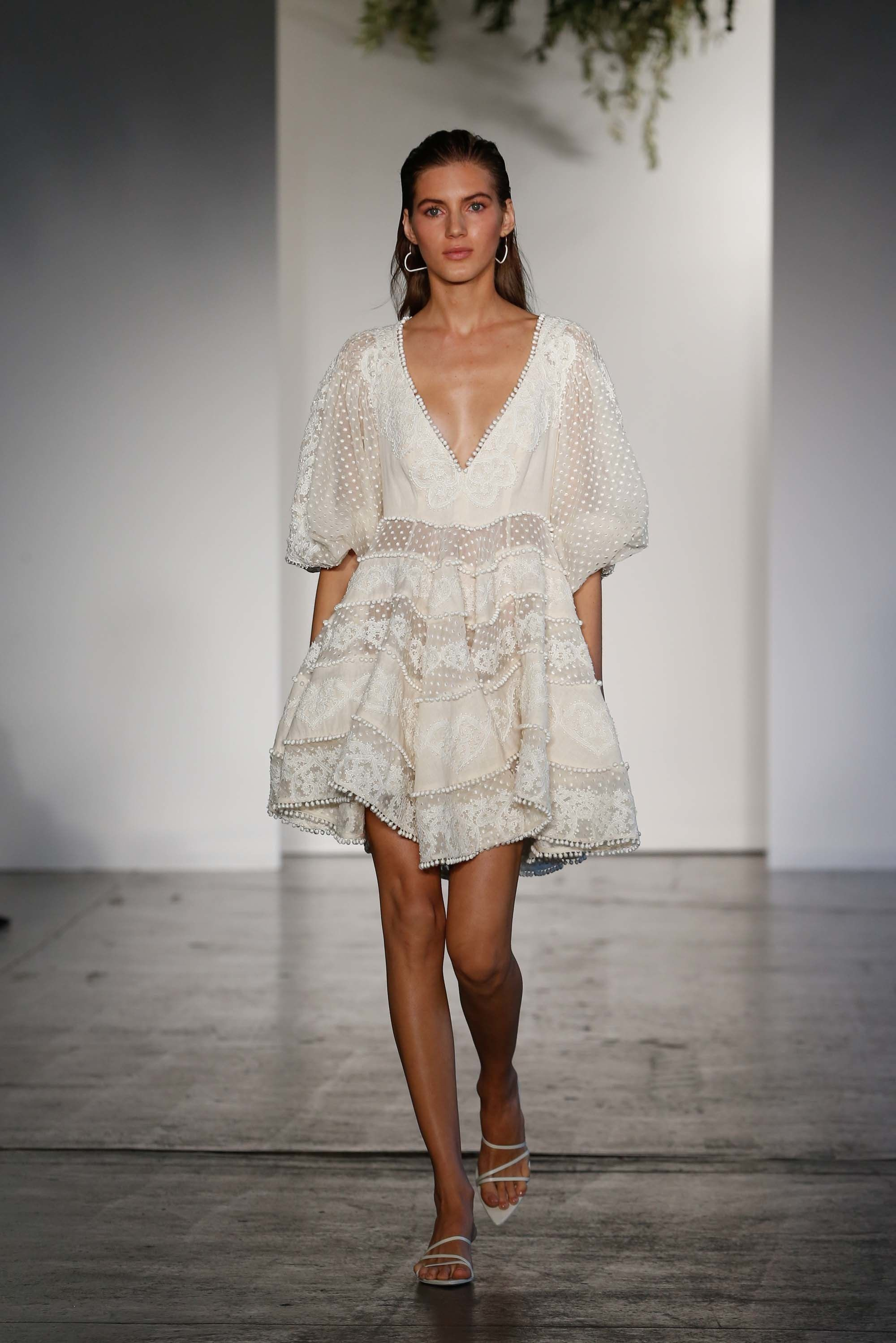 Zimmermann resort fashion show trend research pinterest