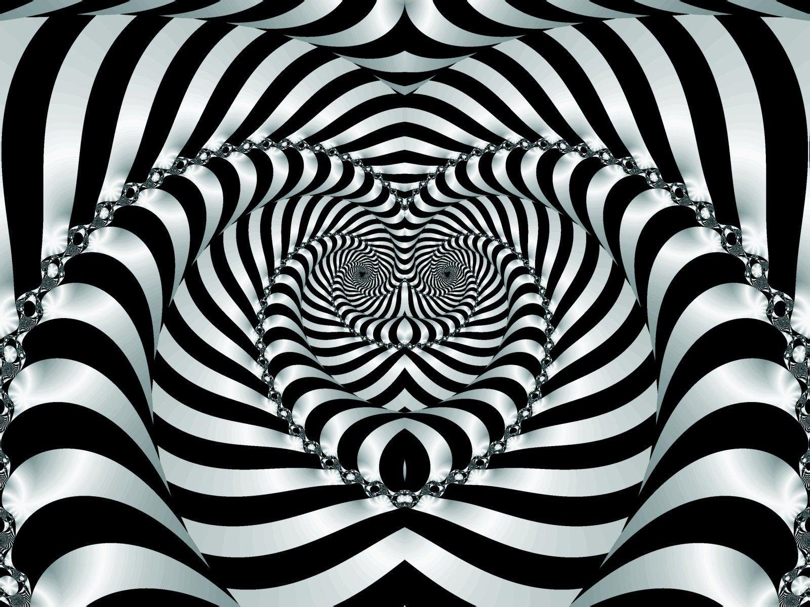 Illusion Black And White Illusions Illusions Optical Illusions
