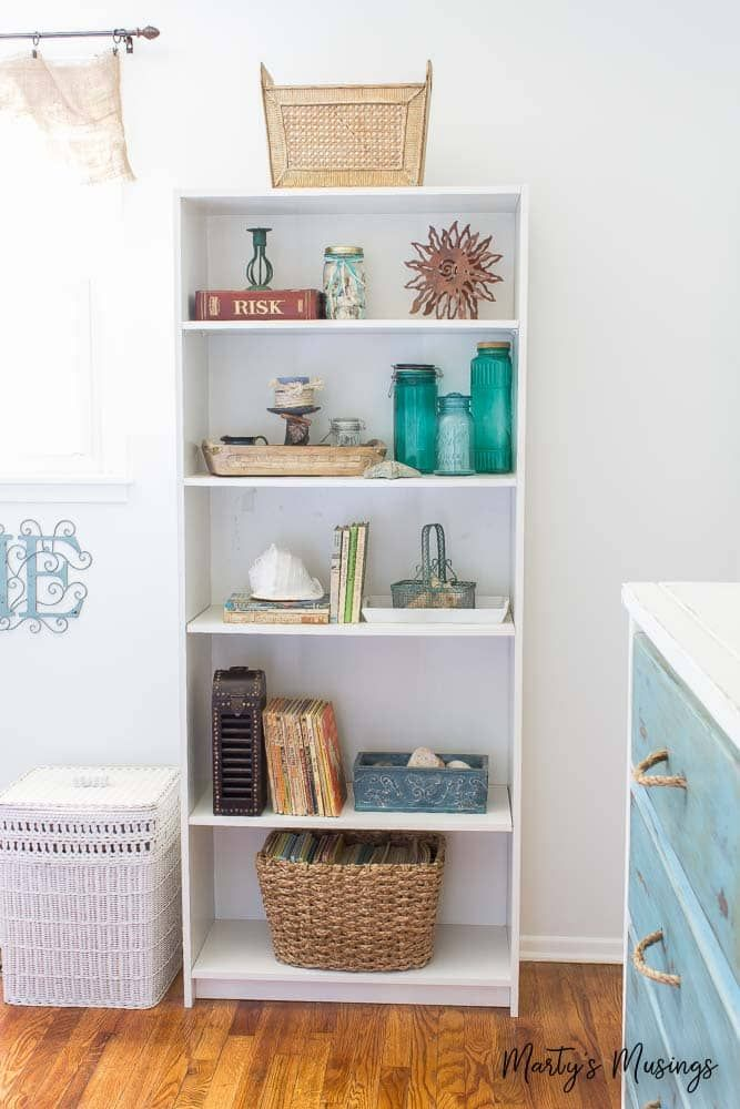 . Inexpensive DIY Beach Decor Ideas and Small Bedroom Reveal   DIY