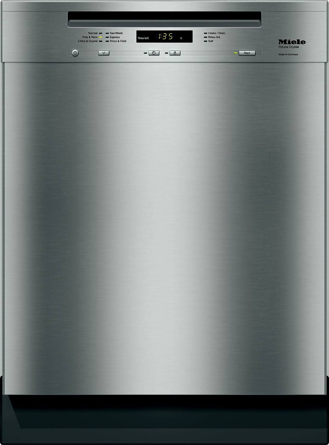 Miele G5105scu 24 Stainless Steel Full Console Dishwasher Miele Dishwasher Built In Dishwasher Quiet Dishwashers