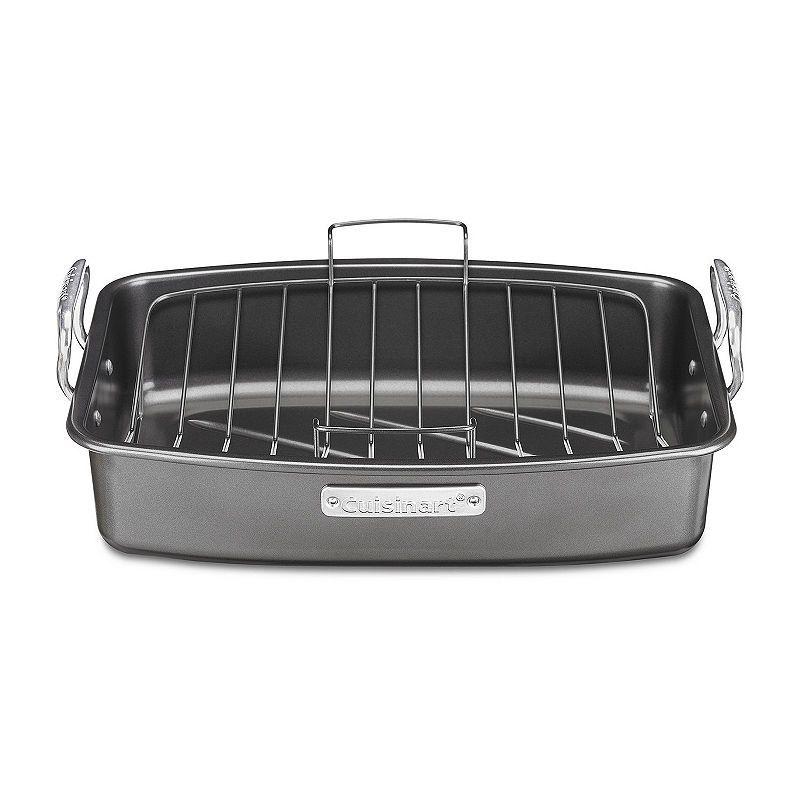 Cuisinart Ovenware 17x13 Nonstick Roaster With Rack Cuisinart