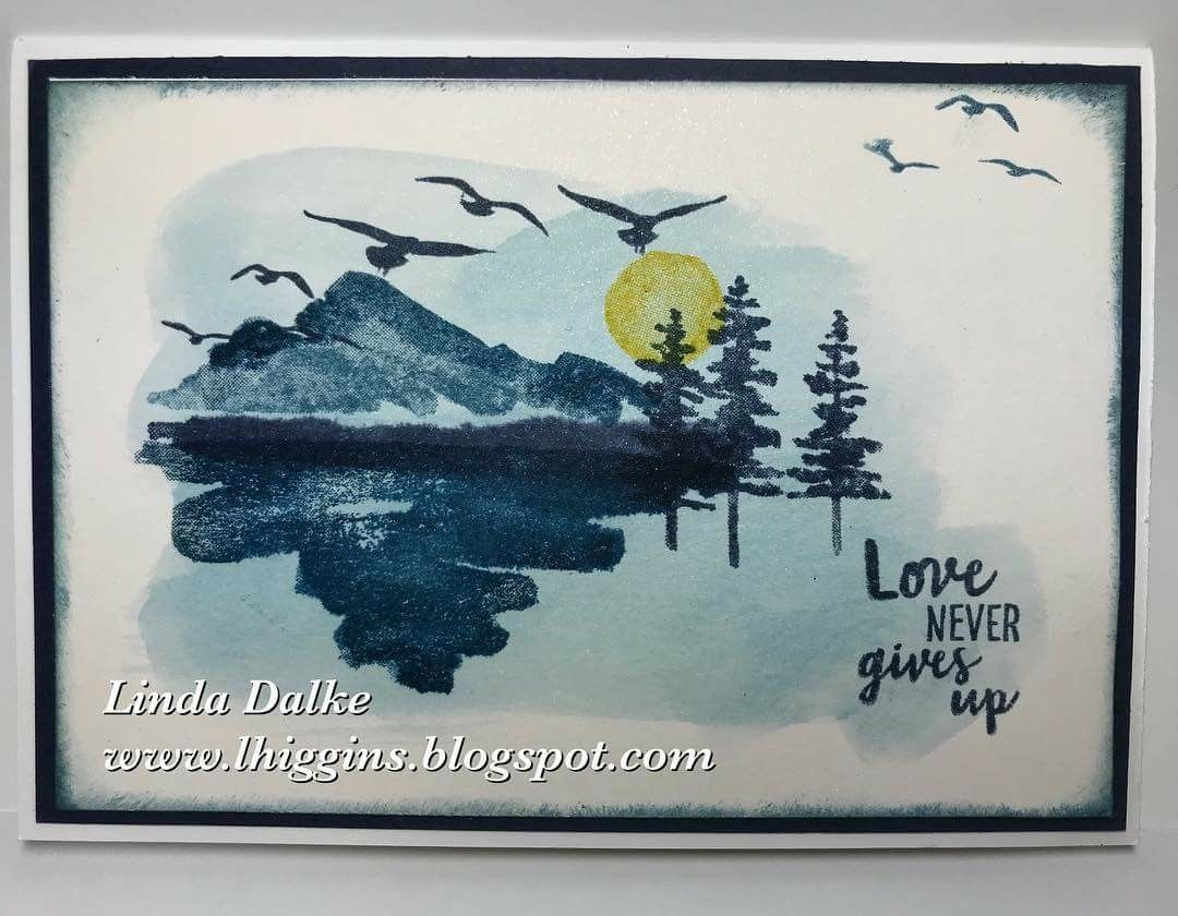 Pin by kathryn m on cards nature scenes pinterest cards card linda dalke last sneak peek from the new occasions catalogue with the waterfront stamp set find this pin and more on cards nature scenes m4hsunfo
