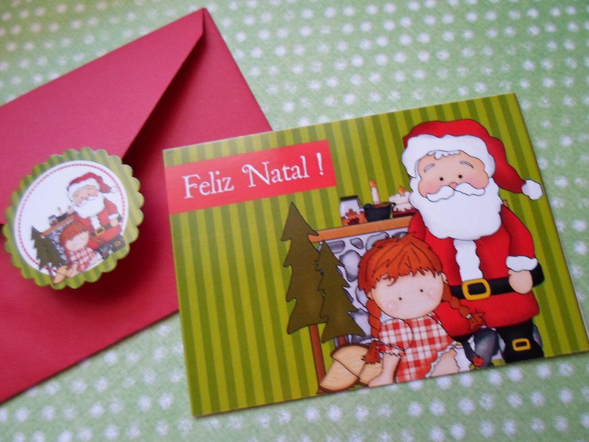 CARTÃO PERSONALIZADO ( 20 unidades ) <br>Cartão personalizado - Modelo Natal <br> <br>Cartão personalizado na frente e por dentro branco para que você possa escrever <br> <br>O kit contém <br> <br>20 cartões <br>20 envelopes com cor coordenada ao cartão <br>20 etiquetas para fechar <br> <br>Impressão a laser <br>Altura: 6.00 cm <br>Largura: 9.00 cm