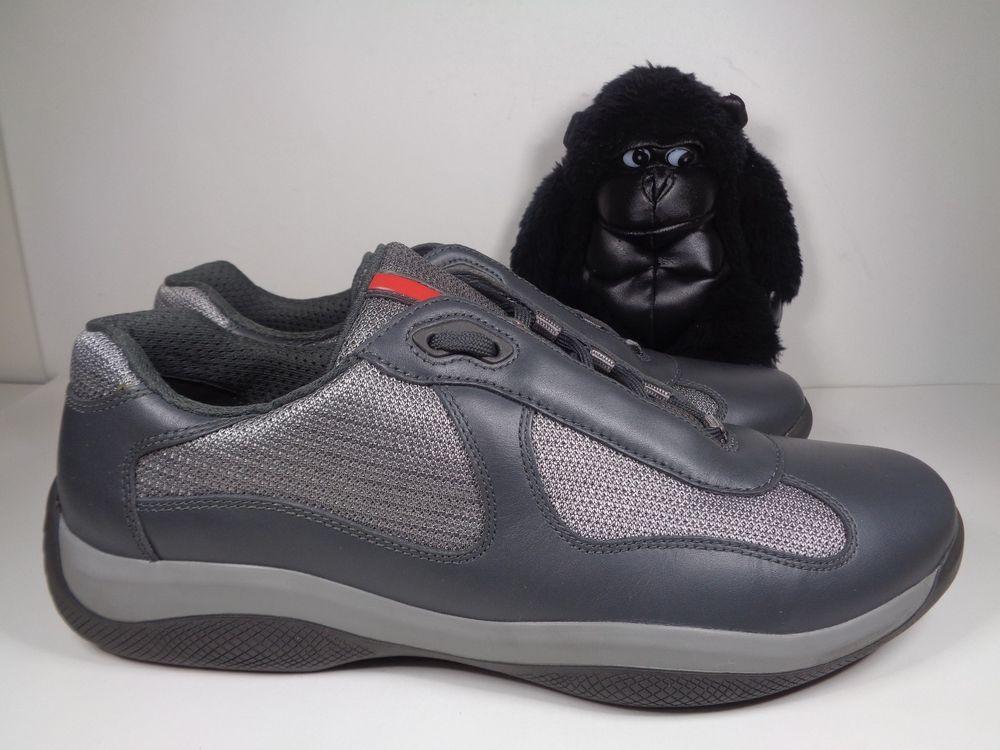 prada men's gym shoes - 58% OFF