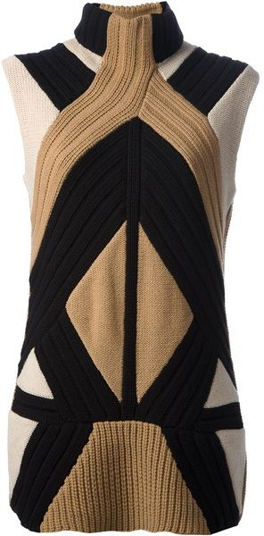 Givenchy High Neck Sweater in Black (nude & neutrals) - Lyst