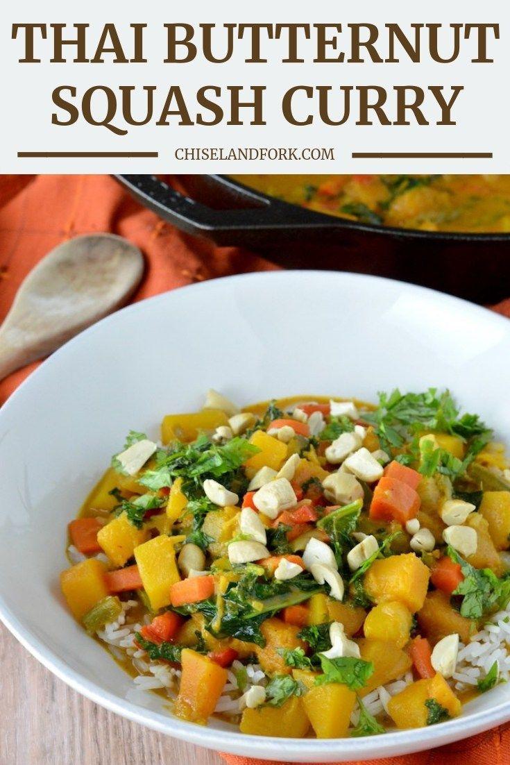 Thai Butternut Squash Curry