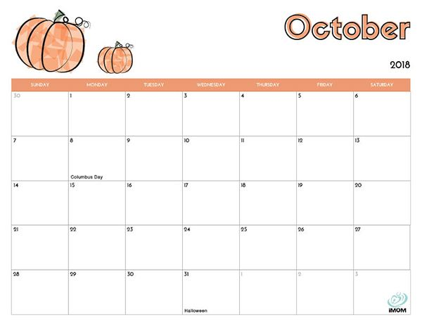 2020 Printable Calendar For Kids Kids Calendar October Calendar
