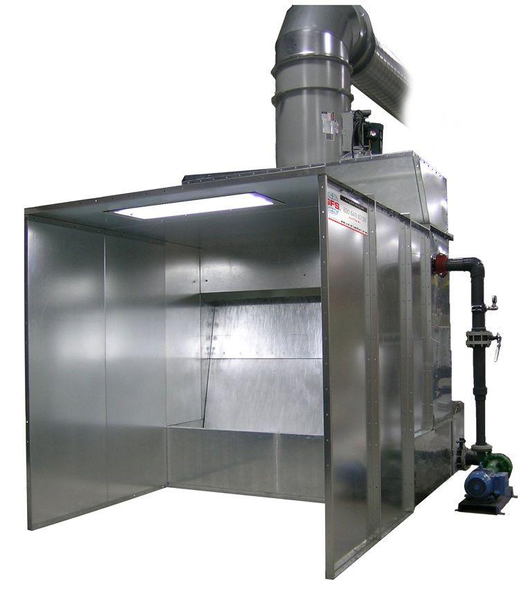 Gfs Dynaprecipitor Water Wash Spray Booth Paint Booth Spray Booth Diy Paint Booth