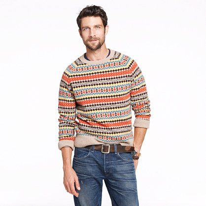 One of the many awful Yule sweaters Leo loves to show off when the ...