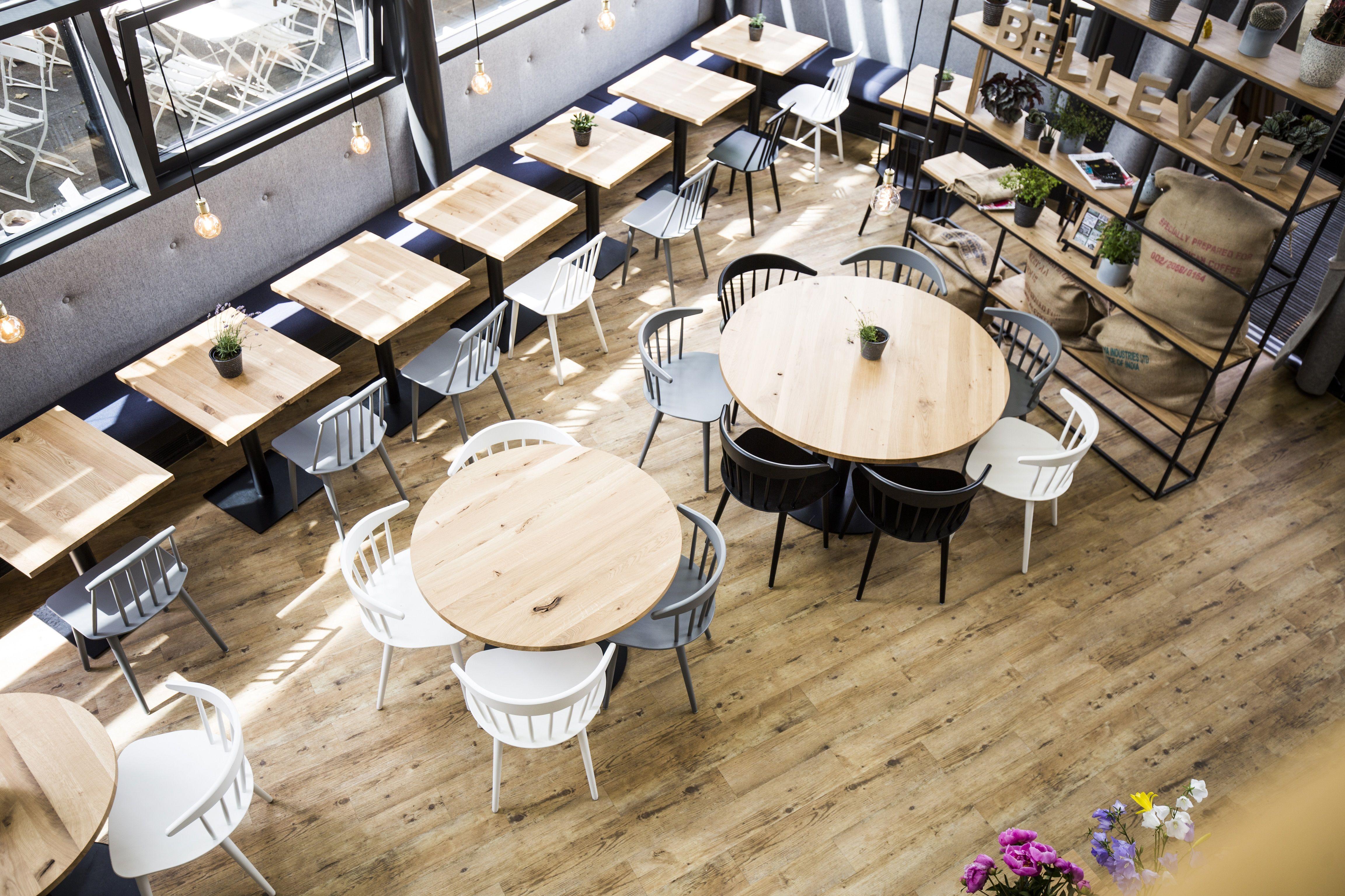 Bellevue   Café   Restaurant   Bar   Interior Design   Studio Yaya   Jacob  Mayer