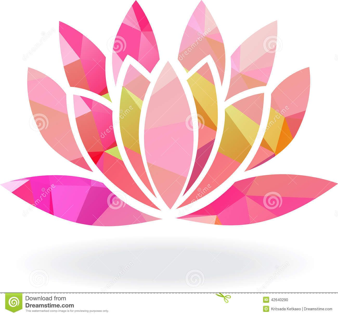 I Feel These Coloured Lotus Flowers Are Used To Often For Yoga So