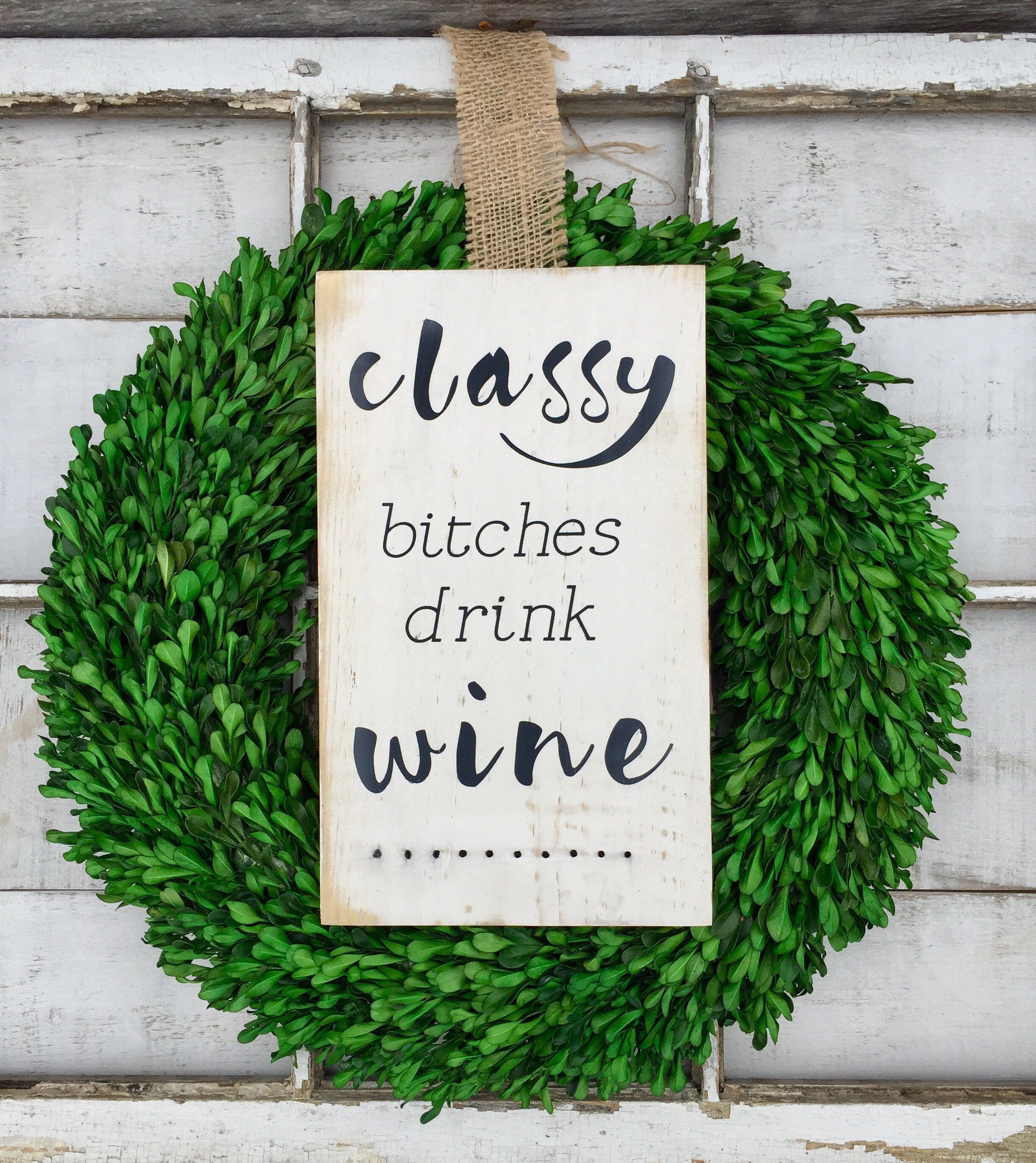 Wine Signs Decor Interesting Wine Wine Sign Wood Sign Signs Rustic Country Decor Funny Decorating Design