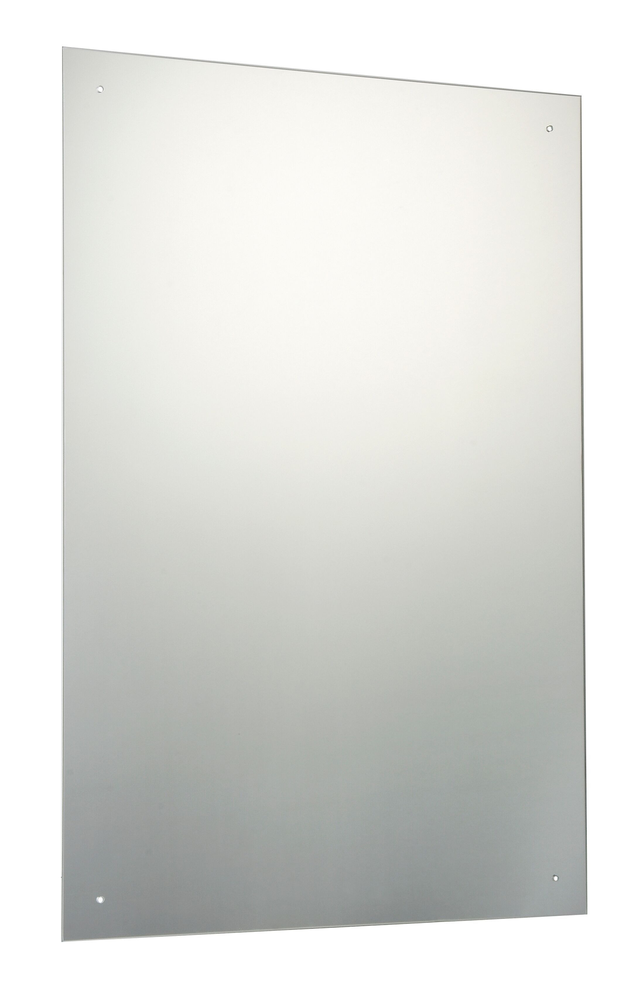 Unframed Rectangular Mirror H 900mm W 600mm
