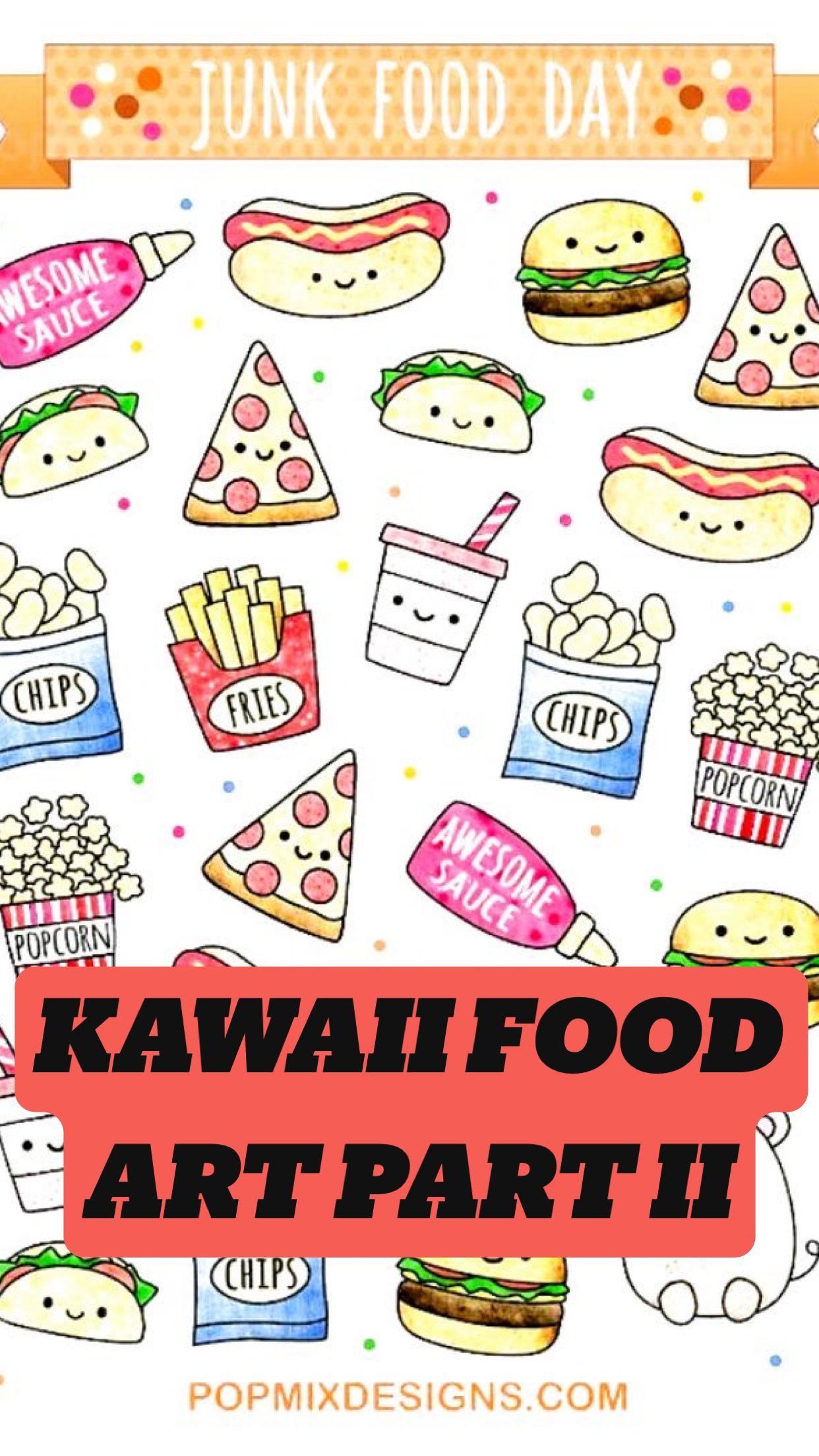 KAWAII FOOD ART PART II