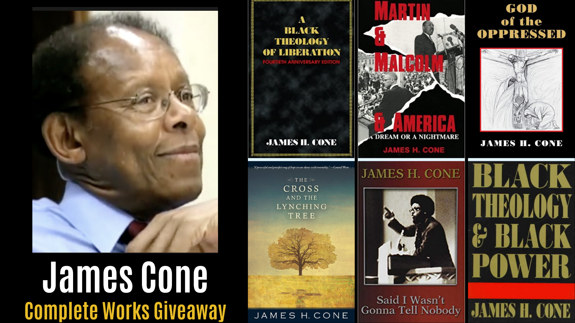 James Cone was Right! Complete Works Giveaway in 2020