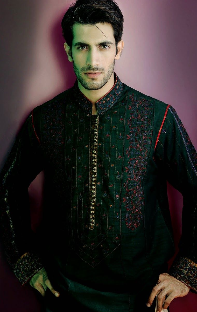 Mehndi Kurta For Mens : Latest men mehndi dresses designs collection