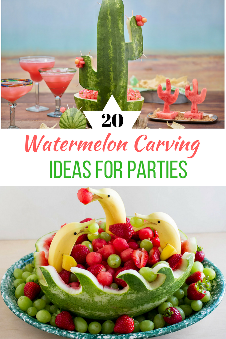 Watermelon Carving Ideas for Parties