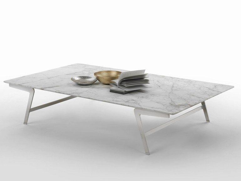 Marmor wohnzimmertisch ~ Soffio couchtisch aus marmor by flexform design antonio citterio