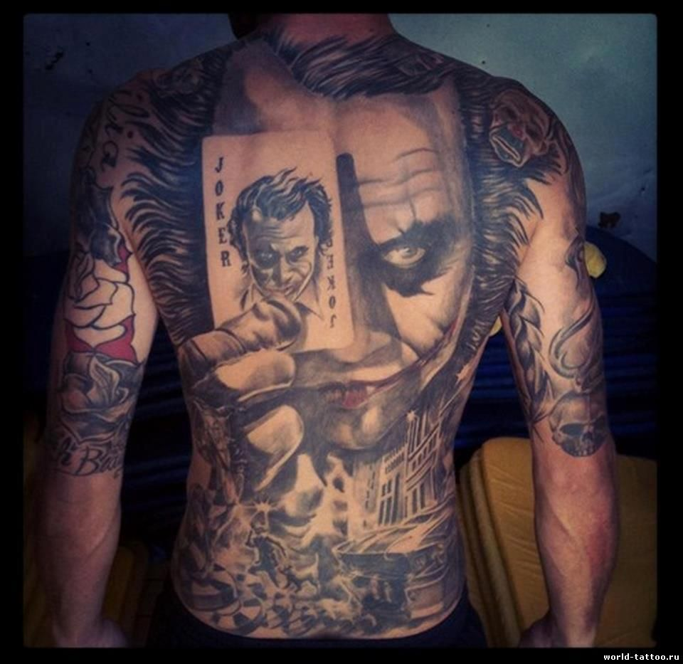Flaming art tattoo for geek tattoo lovers this kind of batman - Find This Pin And More On Body Art The Joker Tattoo Batman