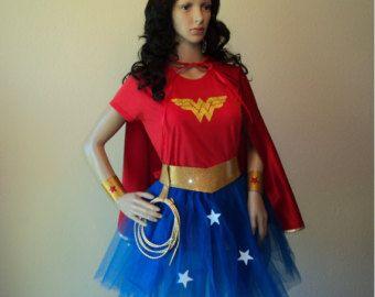Superhero Wonder Woman Cape Costume Accessory
