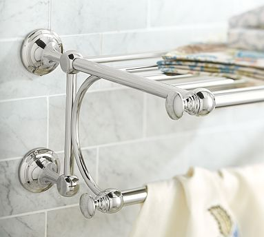 Mercer Train Rack Potterybarn This Would Answer Your Towel Problem You Consider Doing A In Shower
