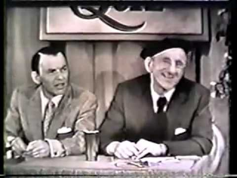 Colgate Comedy Hour With Jimmy Durante And Frank Sinatra Video Youtube So Funny A Must Watch Frank Sinatra Sinatra Great Comedies
