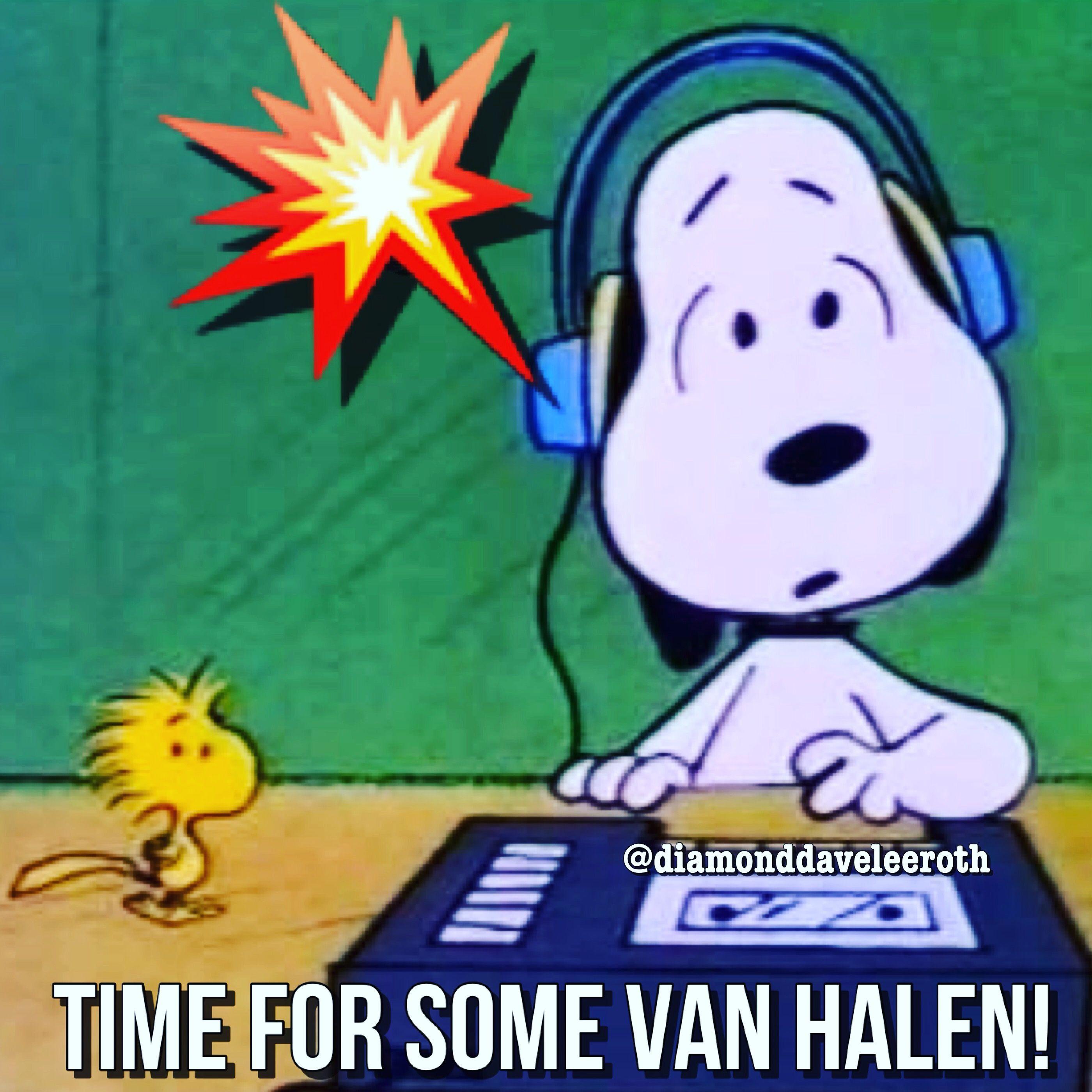 Pin De Shawna Bendov Em Van Halen Snoopy