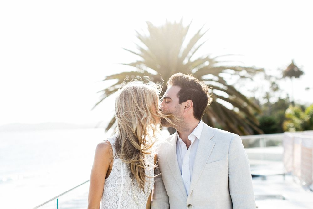 Coral Casino with Christina and Gabe // Engagement // Butterfly Beach// Margaret Austin Photography
