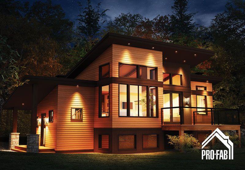pro fab constructeur de maisons modulaires usin es pr fabriqu es mod le panorama. Black Bedroom Furniture Sets. Home Design Ideas