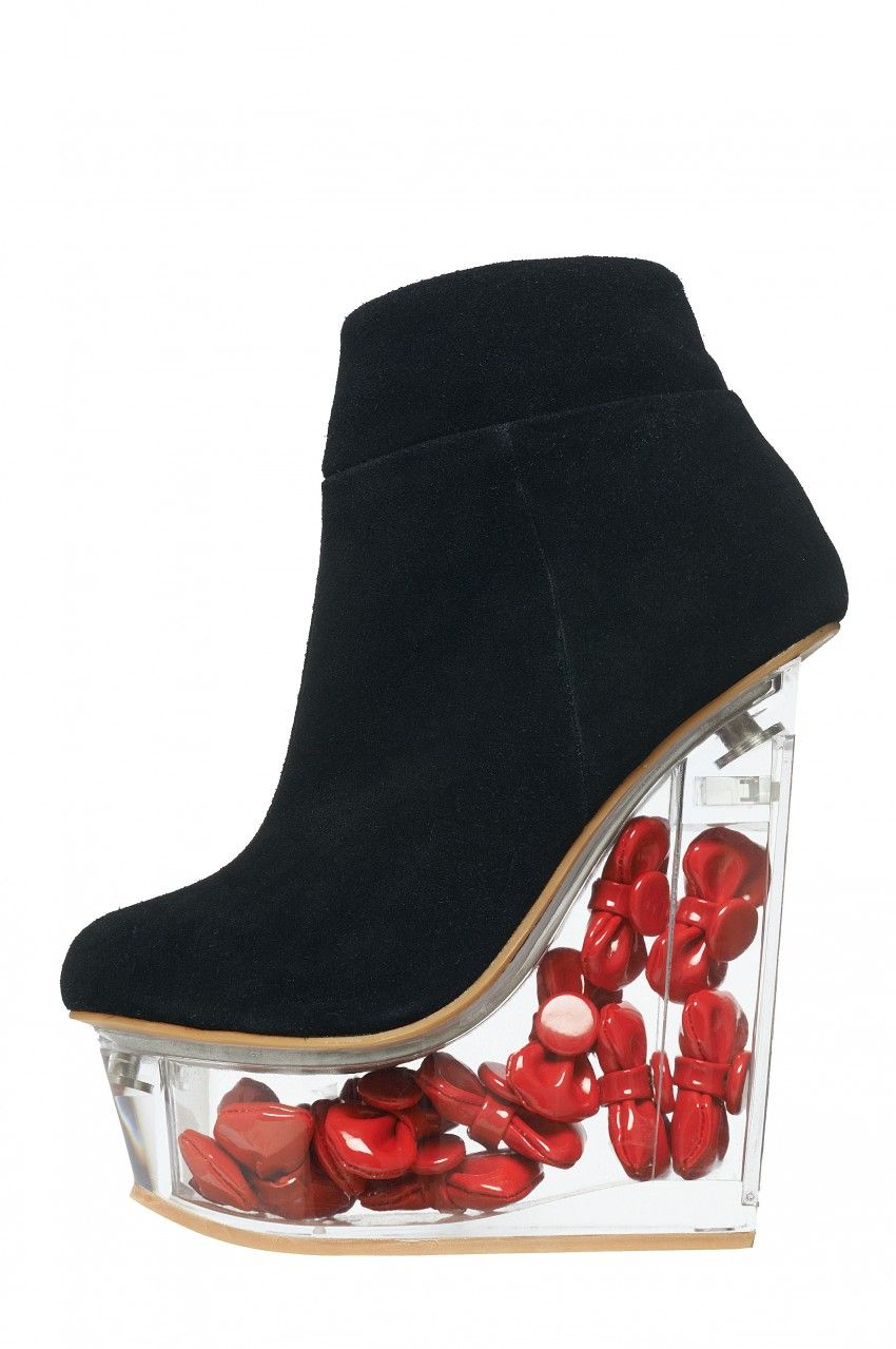 Jeffrey Campbell Jeffrey Campbell Icy Hello Kitty Platform Wedges Black buy cheap 2014 cheap best buy cheap 100% original sale eastbay cheap sale pictures PoKD0