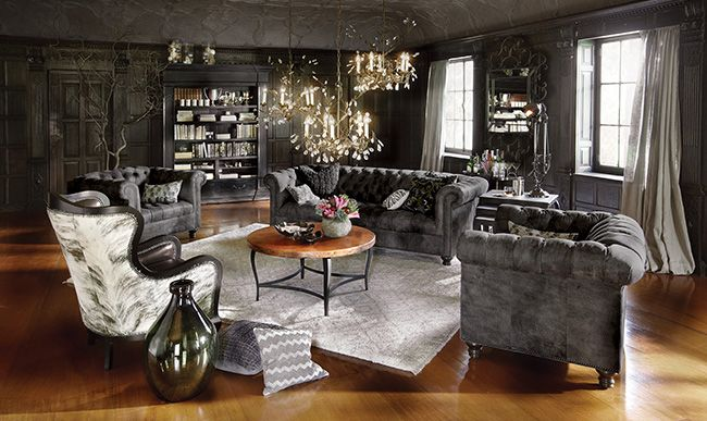 Style Inspiration For Our New Home Leather Sofas Gray Furniture