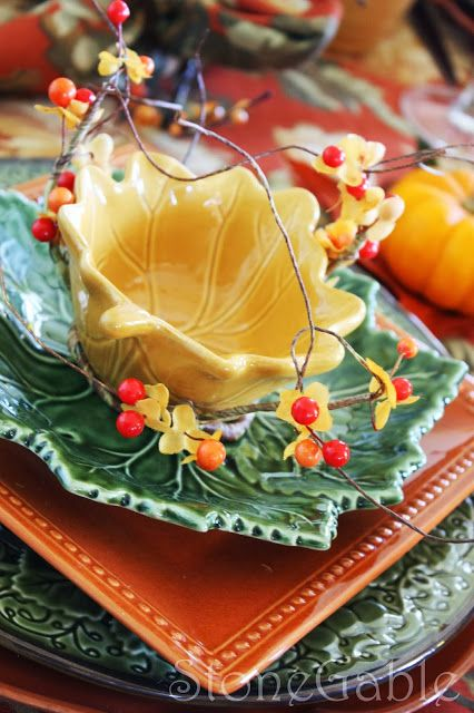 Fall Brunch Tablescape
