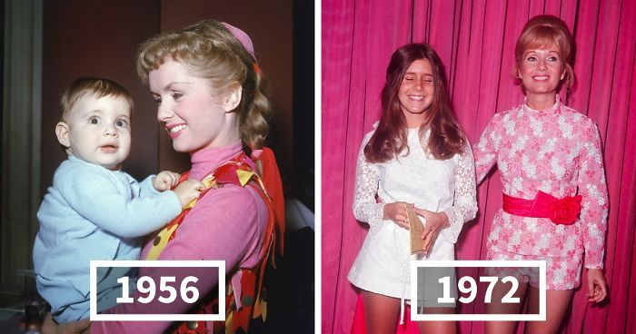 Carrie Fisher & Debbie Reynolds Growing Up Together In 31 Touching Vintage Photos | Bored Panda