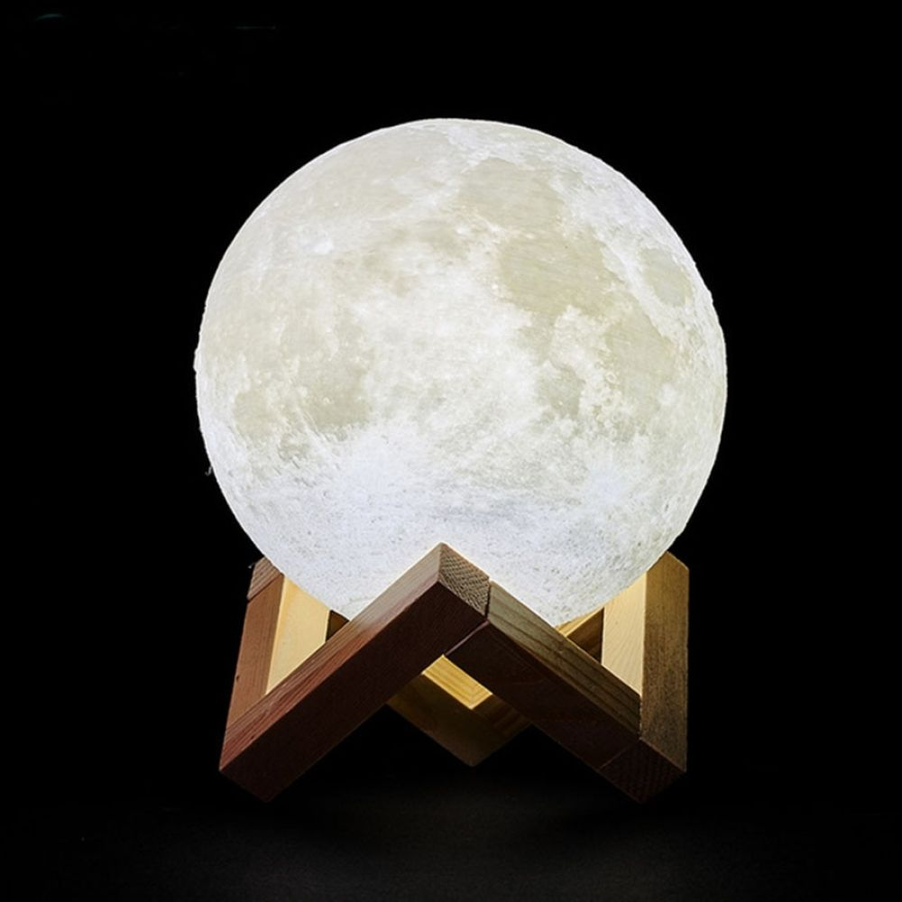 3d Print Rechargeable Moon Lamp Led Night Light In 2020 Led Night Lamp Night Lamp For Bedroom Moon Light Lamp