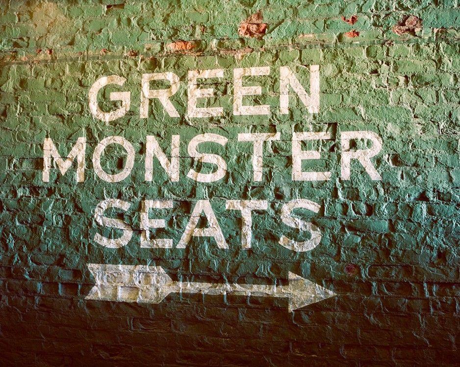 Green monster seats fenway park boston red sox boston