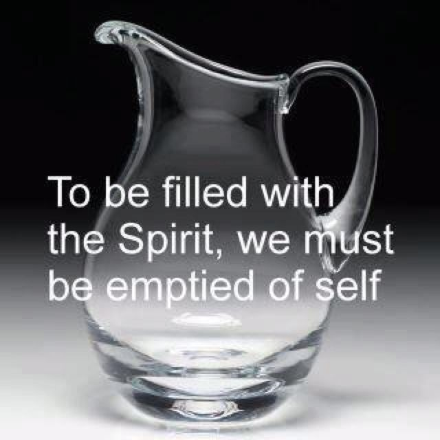 Image result for FILL YOUR EMPTY VESSELS""