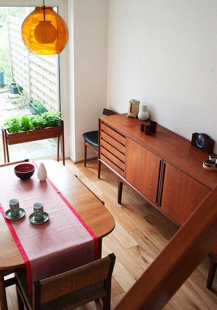 Teak Dining Room Cabinet