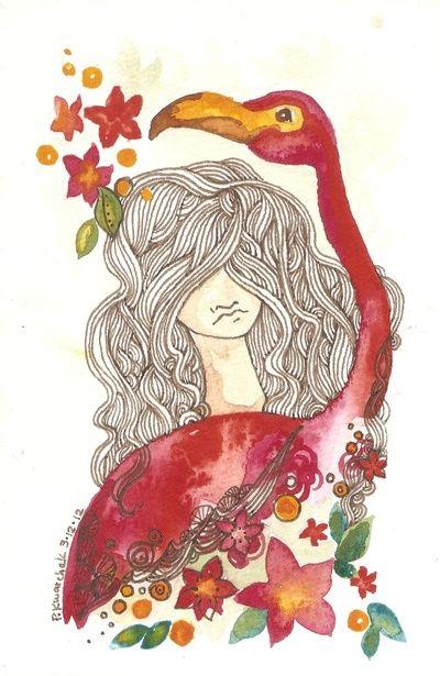 beautiful art work by pam kwarchak of pique studios!