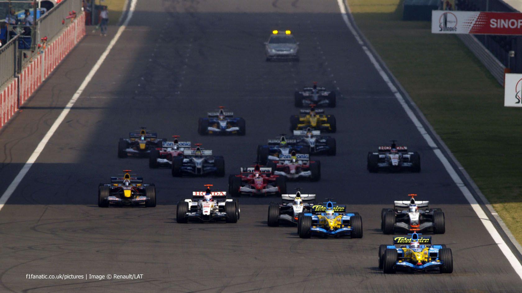 Start shots Chinese Grand Prix F1 Fanatic Chinese