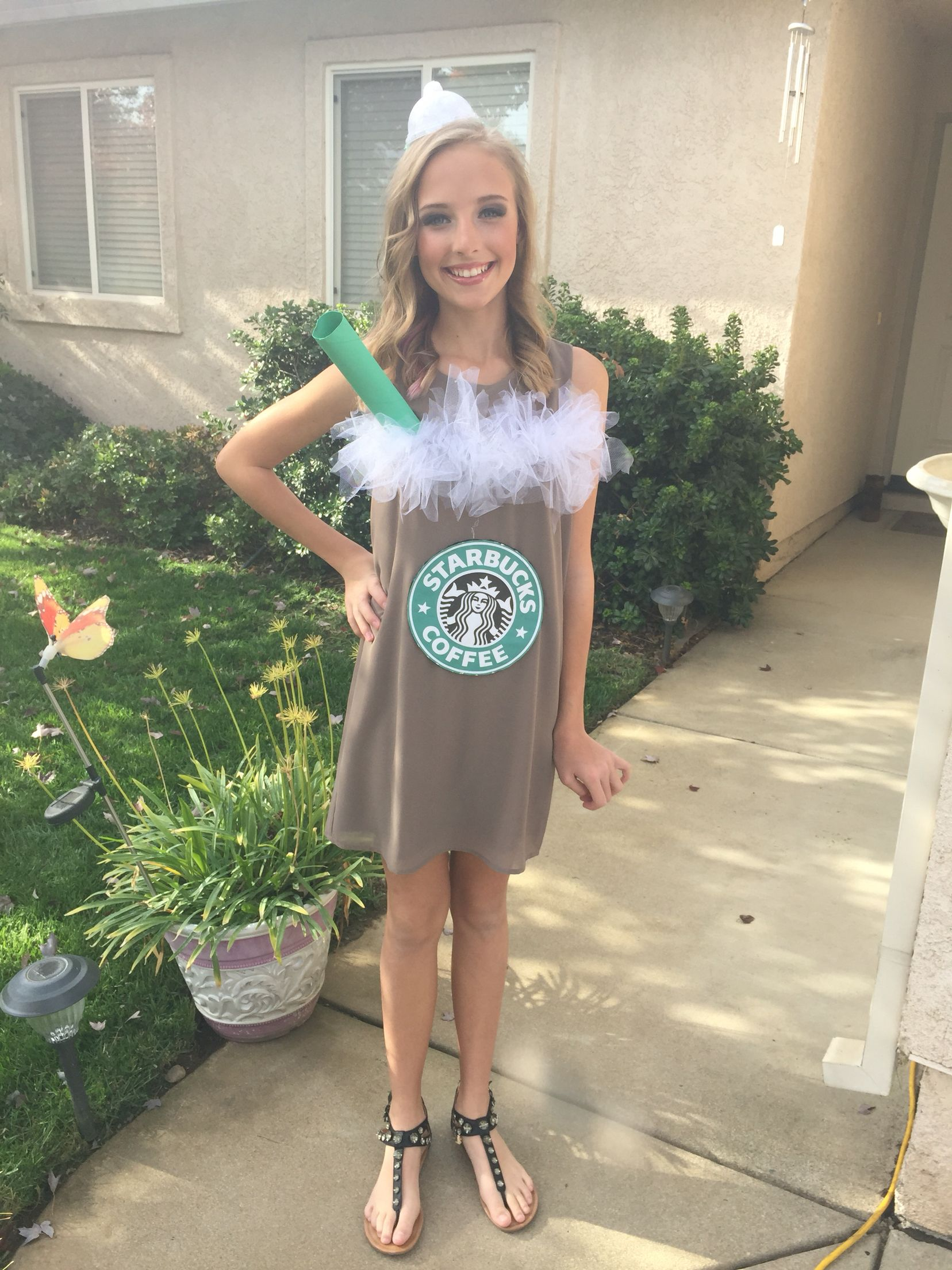 Starbucks Frappuccino Costume Cute Stuff Cute Girl