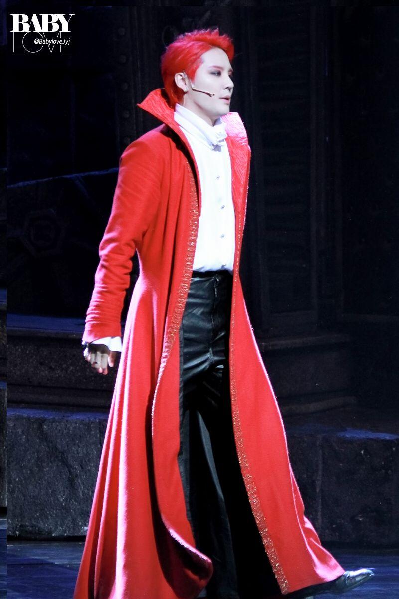 Baby Junsu during musical 'Dracula' Curtain Call ❤️ JYJ Hearts