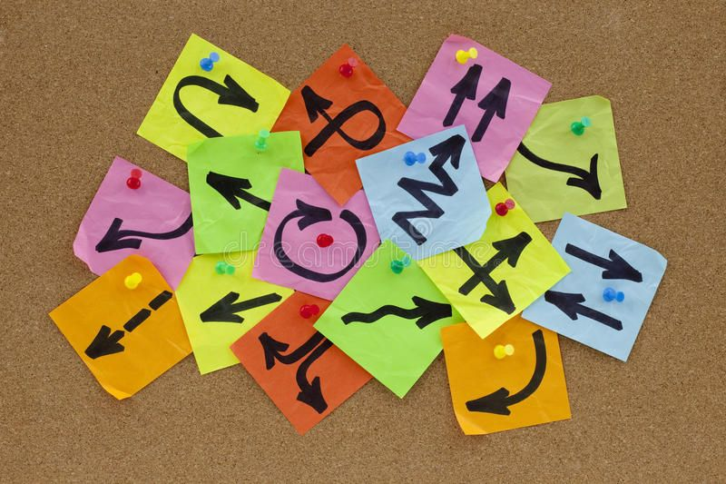Information overload concept. Information overload or guidance confusion concept ,