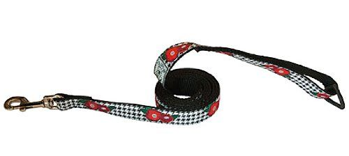 RC Pet Products Dog Leash 1Inch by 6Feet Poppy >>> For