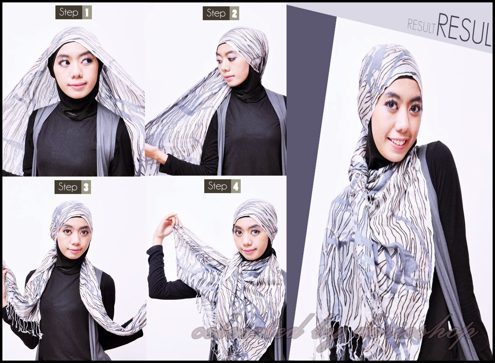 Tutorial Hijab Simple Bagi Pemula Dorie Shop Tutorial Hijab