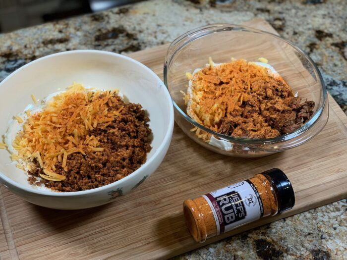 Texas Twinkies -Jalapeños Stuffed with Smoked Brisket