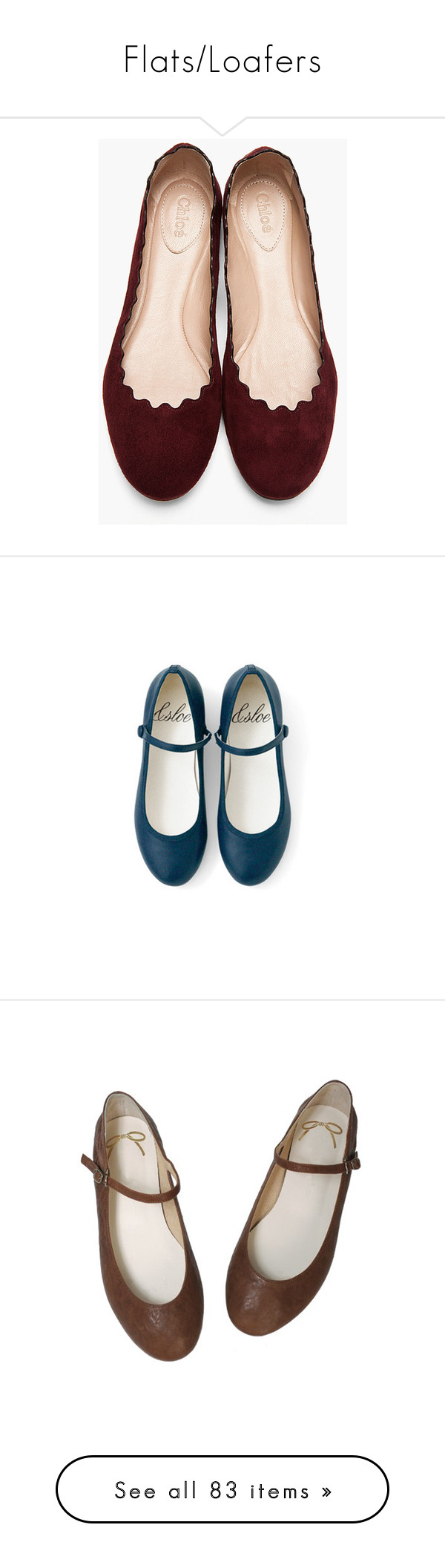 """""""Flats/Loafers"""" by lilies-for-lily ❤ liked on Polyvore featuring shoes, flats, sapatos, zapatos, purple suede shoes, flat shoes, plum shoes, plum flats, round toe shoes and обувь"""