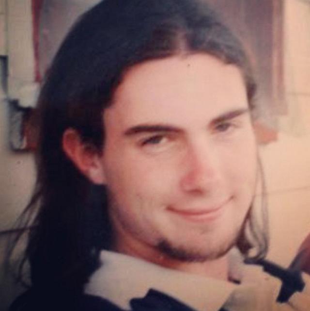 Young Adam Long Hair Adam Levine Young Adam Levine Long Hair Styles