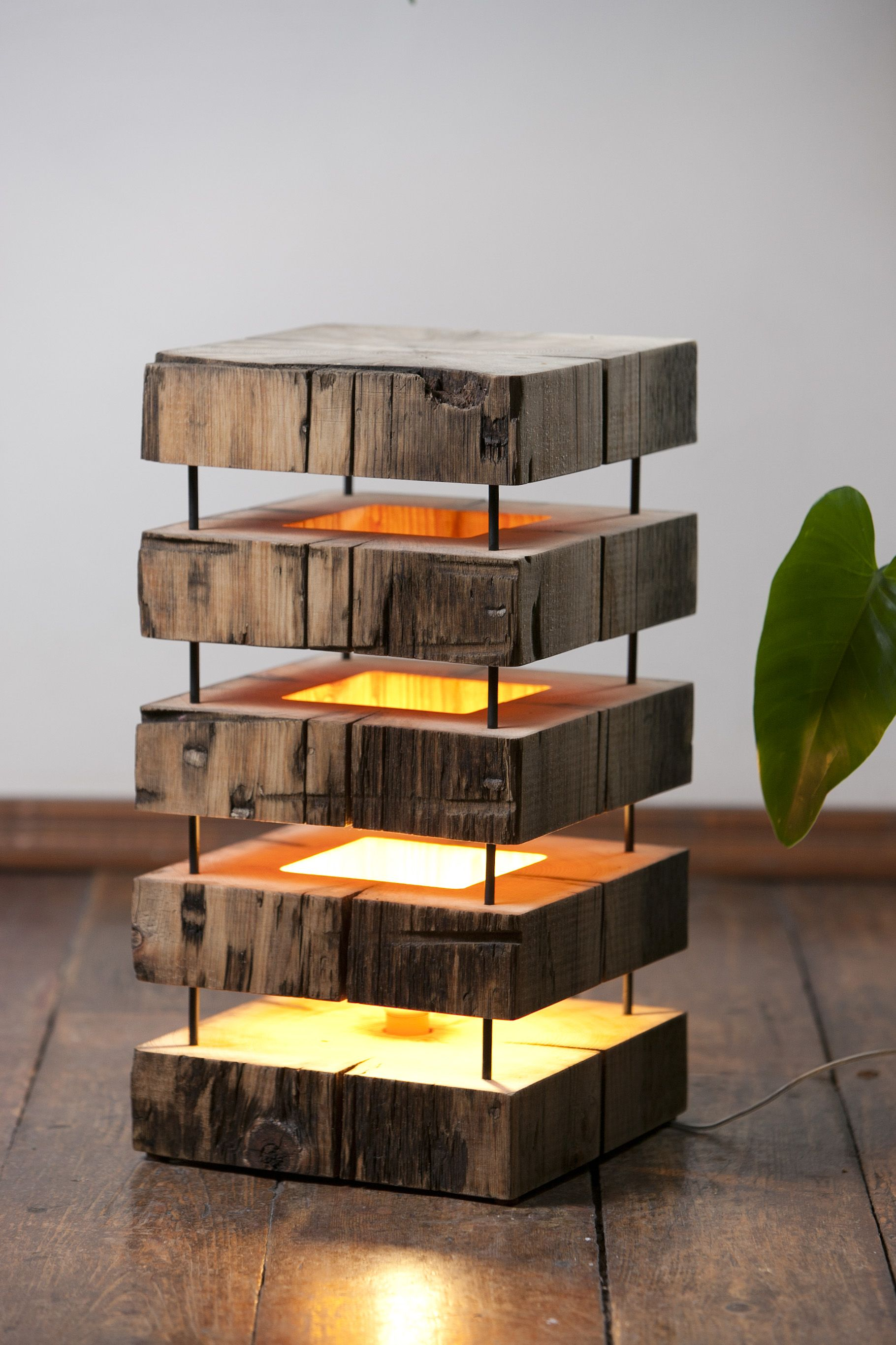 mood lamps made from very old cedar beams mood lamp pinterest