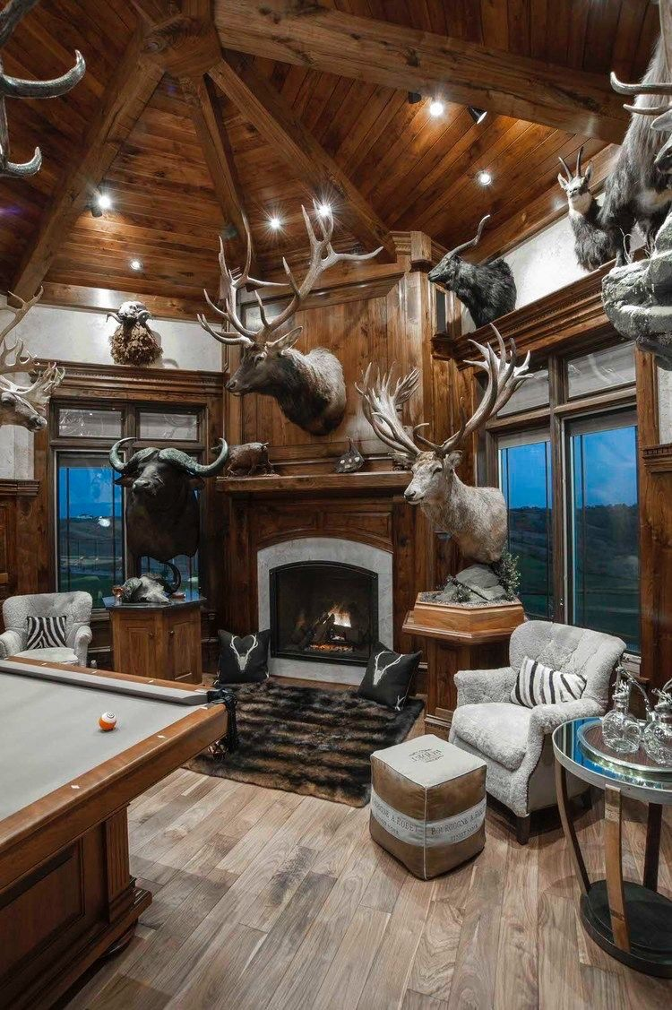 Trophy Room Design Ideas: Pin By Jaime Peavy On DIY Projects In 2019